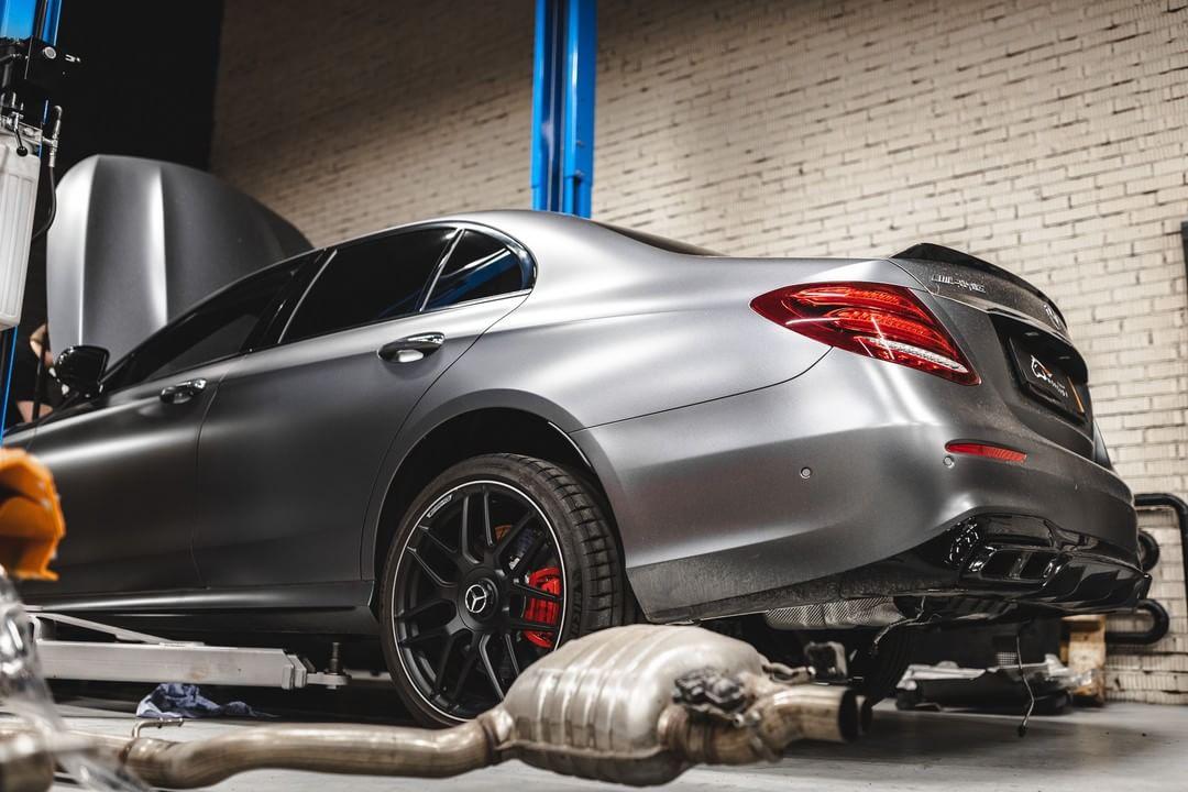 Чип тюнинг Mercedes W213 E63S