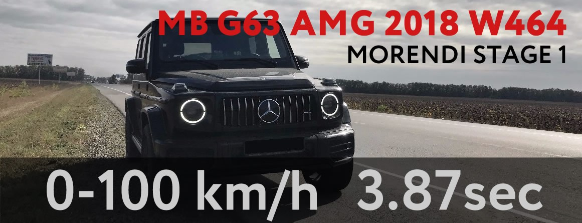 MERCEDES G63 AMG 2018 W464 MORENDI STAGE 1