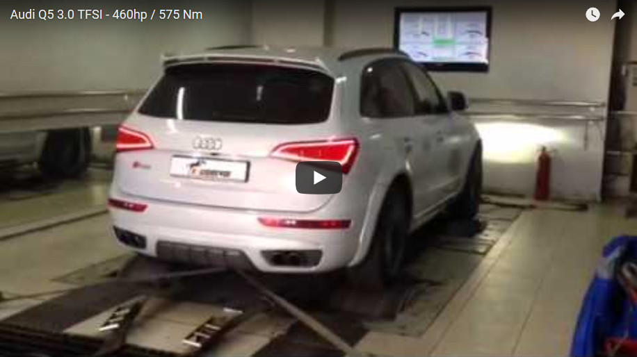 Audi Q5 3.0 TFSI — Stage 2: 460hp / 575 Nm