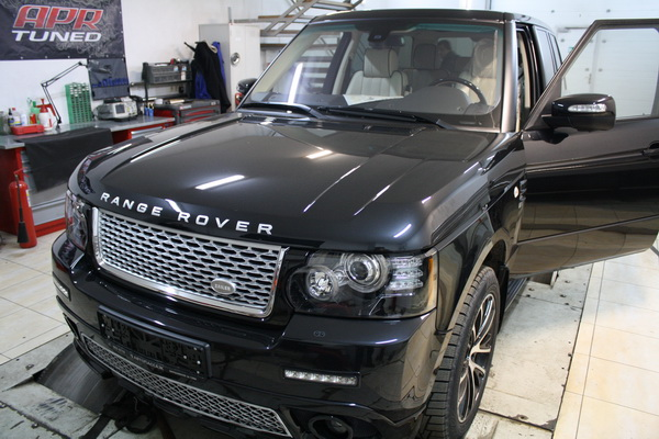 Чип тюнинг Range Rover VOGUE 2011 TDV8 313hp