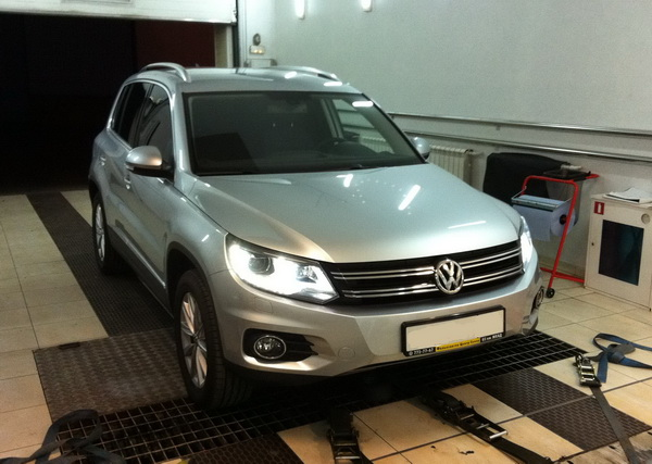 Чип-тюнинг VW Tiguan нового 2012 модельного года