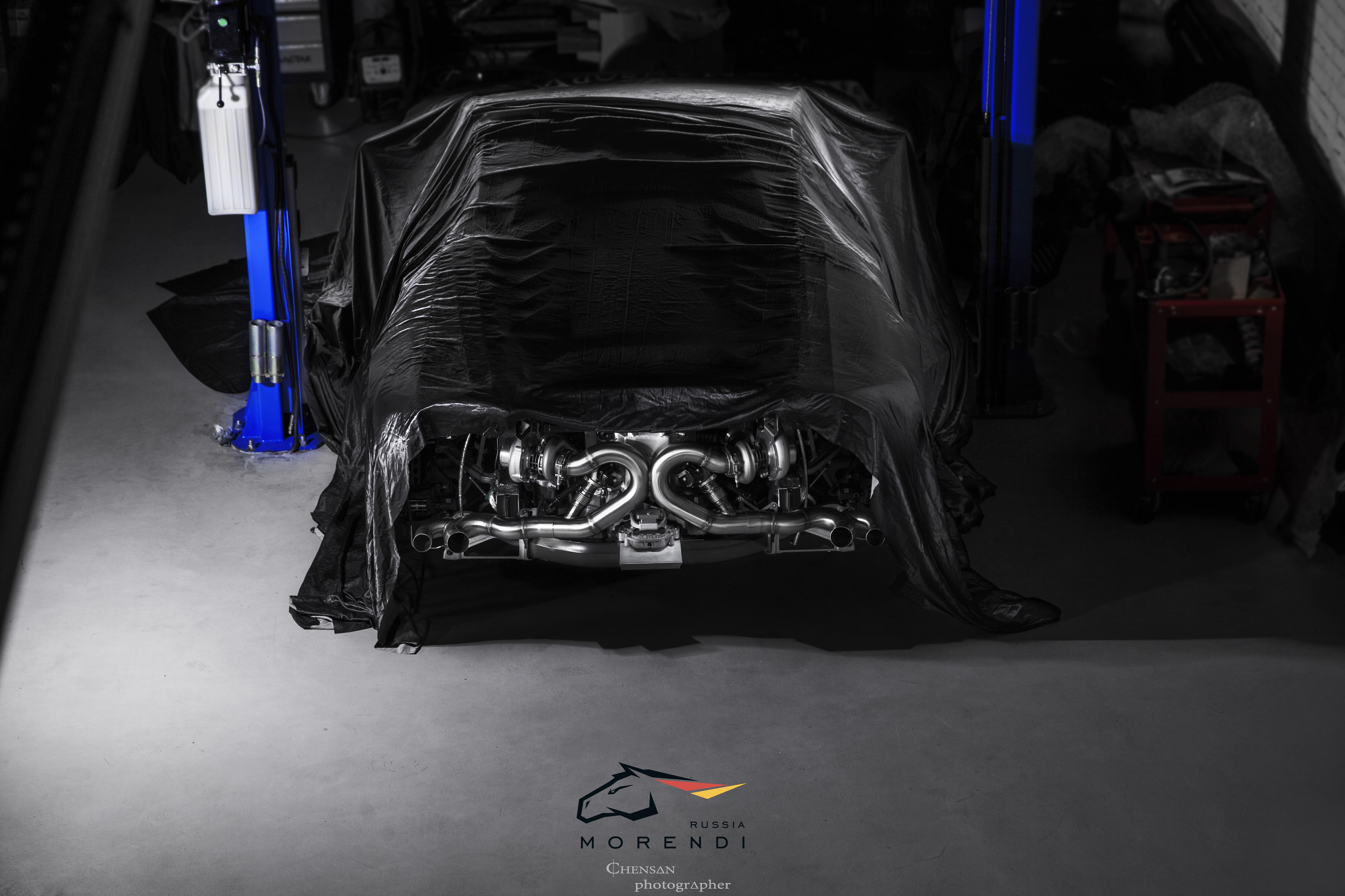 DSC OFF: Заезд Lamborghini Huracan TwinTurbo построенной в Morendi против Nissan GTR 950 лс