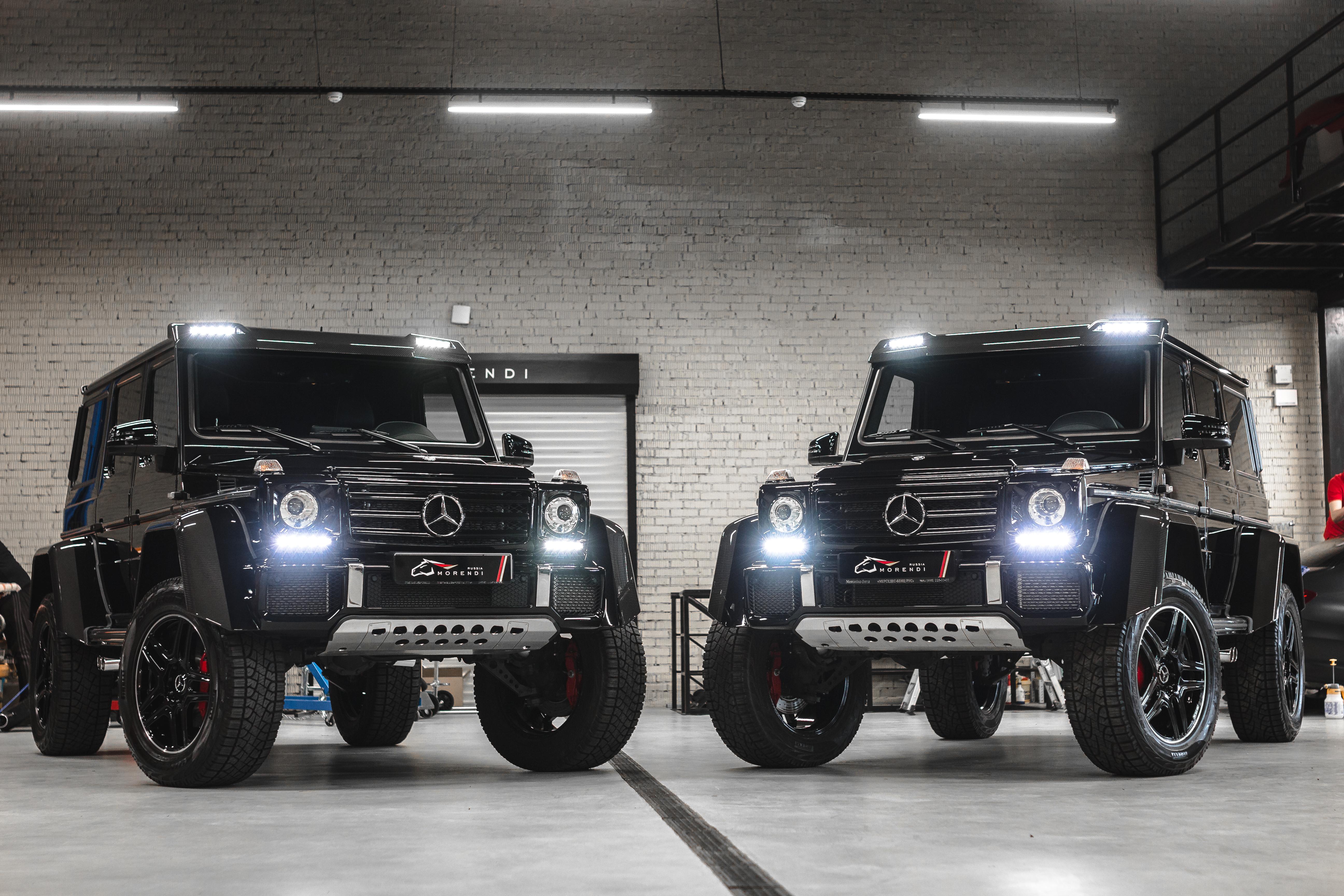 Сразу три Mercedes G500 4x4² построенных для ТИМАТИ