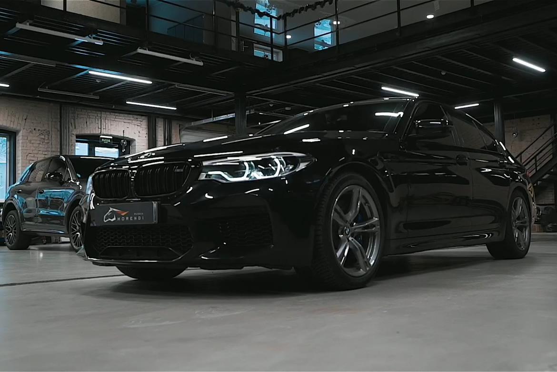 Быстрый и мощный Суперкар! - BMW M5 F90
