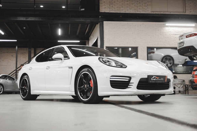 Роскошный седан с новым турбированным бензиновым двигателем - Porsche Panamera 971 3.0 V6 Turbo