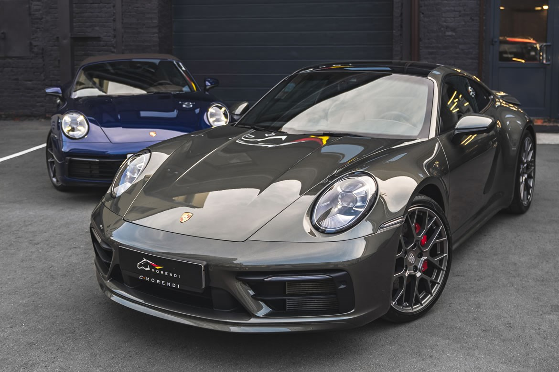 Старая классика в новом исполнении - Porsche 911 серии 992