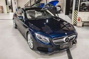 Mercedes S 500 455 л.с. с двигателем M278 4.7 BiTurbo в кузове  W217/222 - фото 11497