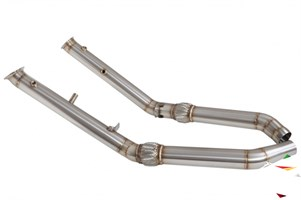 Даунпайп (Downpipe) 76мм MERCEDES ML 400-450  - фото 11890
