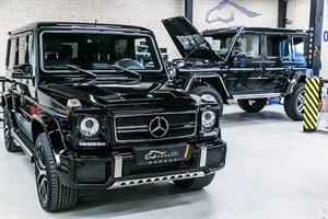 Mercedes G 63 AMG (571 л.с.) W463 с двигателем 5.5 литра M157 V8 BiTurbo - фото 12474