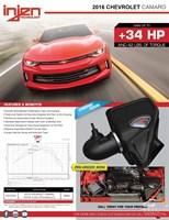 Впускная система высокой производительности для Chevrolet Camaro с двигателем  L4 2.0L Turbo LTG Ecotec - фото 12571