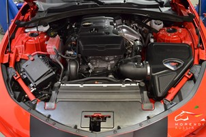 Впускная система высокой производительности для Chevrolet Camaro с двигателем  L4 2.0L Turbo LTG Ecotec - фото 12572
