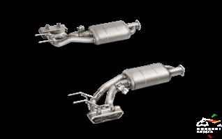 AKRAPOVIC Выхлопная система Evolution для Mercedes-AMG G63 / G500 (W463, Bi-turbo) S-ME/TI/2H - фото 12996