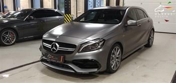 Mercedes A45 AMG (381 л.с.) W176 двигатель M133 - фото 4596