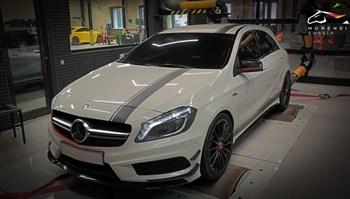 Mercedes A45 AMG (360 л.с.) W176 - фото 4604