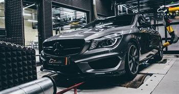 Mercedes CLA 45 AMG (360 л.с.) C117 двигатель M133 I4 Turbo - фото 4610