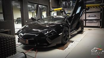 Lamborghini Aventador 6.5 V12 (700 л.с.) - фото 4904