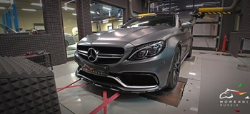 MORENDI | Чип тюнинг двигателя - Mercedes C63 AMG S 4 0 (510