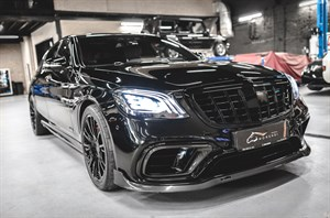 Mercedes S 63 AMG S - 4.0 Bi Turbo (612 л.с.) W217/222