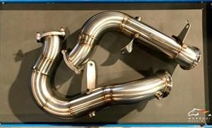 Даунпайпы 76мм для Porshe Macan Turbo / S / GTS