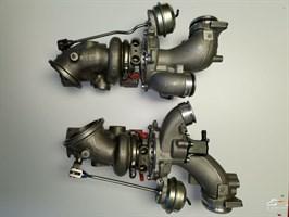 Высокопроизводительные турбины M550 (до 600лс) для Mercedes 400 / 450 / 43 AMG с двигателем M276 3.0L V6 BiTurbo