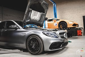 Mercedes C63 AMG S W205 4.0 (510 л.с.) двигатель M177 V8 Biturbo
