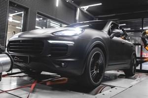 Porsche Cayenne 4.0T (550 л.с.)