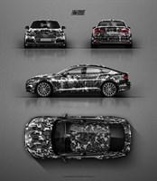 Проект дизайна AUDI A5 Camo