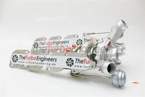 Гибридный турбокомпрессор - TTE900+ AMG 63 UPGRADE TURBOCHARGERS для MERCEDES AMG 63 5.5 L V8 Bi-Turbo M157