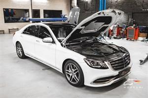 Mercedes S 450 (367 л.с.) W217/222 двигатель M256