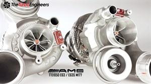 Гибридный турбокомпрессор - TTE1050 UPGRADE TURBOCHARGERS для MERCEDES AMG V8 Biturbo 4.0 M177/178 E63 C63 G63 GT GTS S GLC