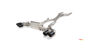 Выхлопная система AKRAPOVIC Evolution Line (Titanium) для BMW F91 M8 Cabrio, F92 M8 Coupe