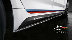 BMW  M Performance Карбоновая накладка на порог (левая) для F90 M5