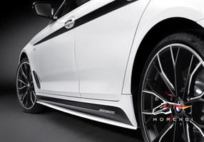 Наклейки на пороги M Performance для BMW G30/M5 F90