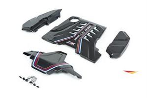 Карбоновые накладки на двигатель M Performance для BMW M5 F90 и BMW M8 F91/92.