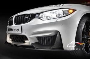 Карбоновые накладки на передний бампер M Performance для BMW M3 F80 / M4 F82
