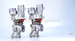 Гибридный турбокомпрессор - TTE910 UPGRADE TURBOCHARGERS для MERCEDES AMG V8 Biturbo 4.0 M177 / M178 C63 G500 GT GTS S GLC