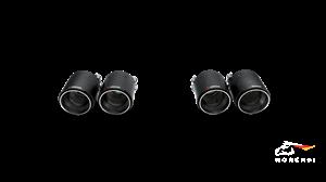 Комплект насадок AKRAPOVIC для BMW F80 M3, F82 M4 (карбон)