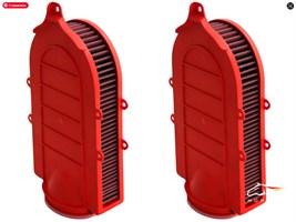 Фильтр воздушный в штатное место для BMW F85 X5M, F86 X6M (Full Kit)