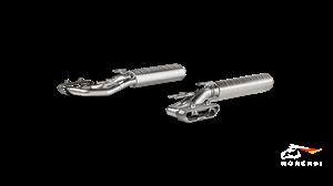 AKRAPOVIC Выхлопная система Evolution Line (Titanium) для Mercedes-AMG W463A G63 (двигатель M177)