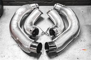 Даунпайпы и Мидпайпы 84мм для BMW F90 M5 / F91 M8 / F92 M8 / F93 M8 Gran Coupe