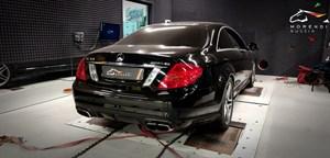Mercedes CL63 AMG (544 л.с.) C216 двигатель M157 V8 Biturbo