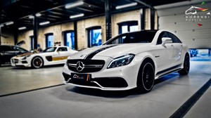 Mercedes CLS 63AMG (558 л.с.) W218 двигатель M157 V8 Biturbo