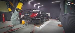 Mercedes C63 AMG Black Series (517 л.с.) W204 двигатель M156 V8 NA