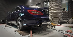Mercedes CLS 550 (407 л.с.) W218 двигатель M278 V8 Biturbo