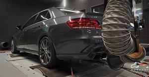 Mercedes E 63AMG (525 л.с.) кузов W212 двигатель M157 V8 BiTurbo